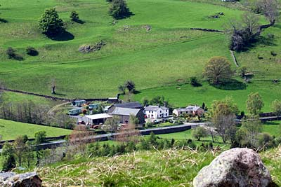 Causeway Foot Farm from High Rigg